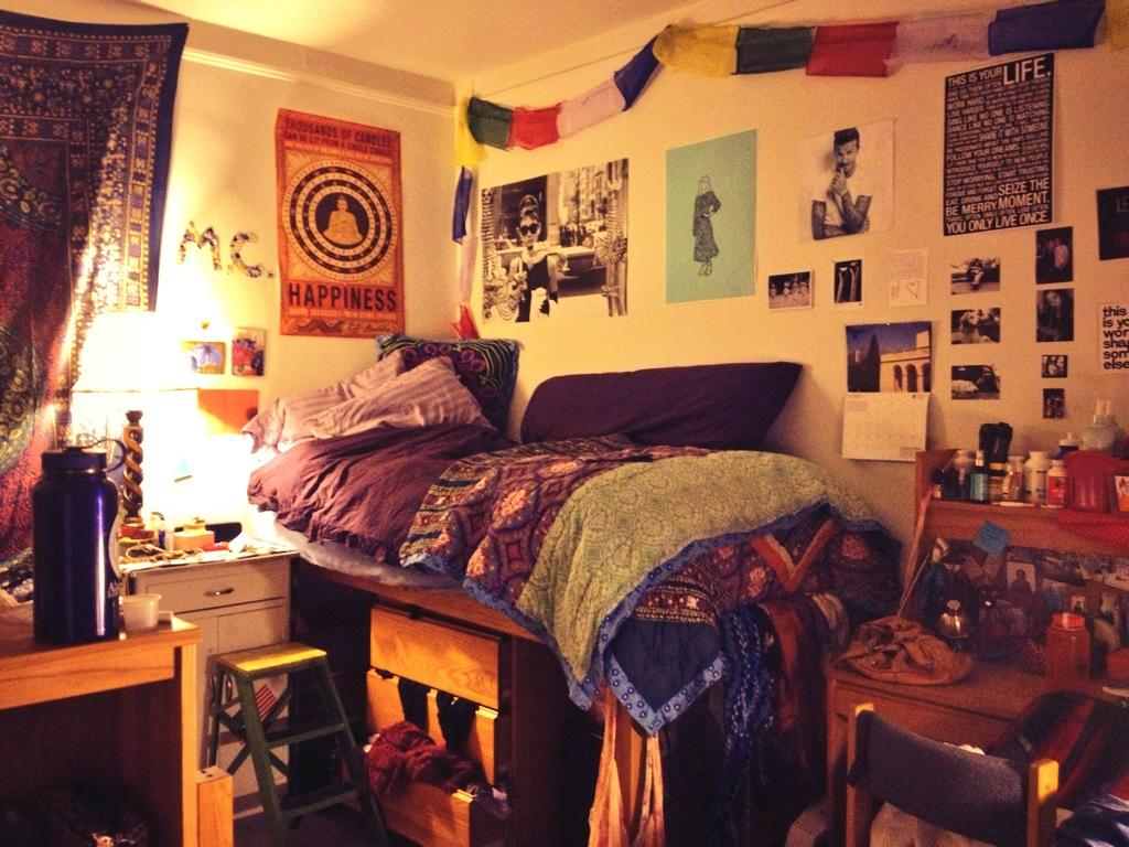 Mary Clare Bosco Shows Off Her Dorm Room. (Photo Courtesy Of Bosco) Part 24