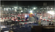 Mini racetrack proves a surprisingly cool place to hang out
