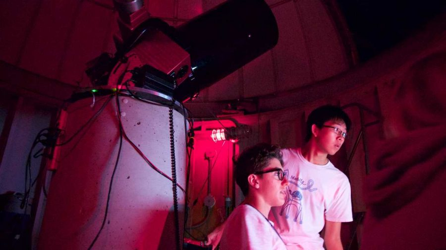 HERE COMES SUMMER: Yale program in astrophysics proves fascinating but unbelievably exhausting