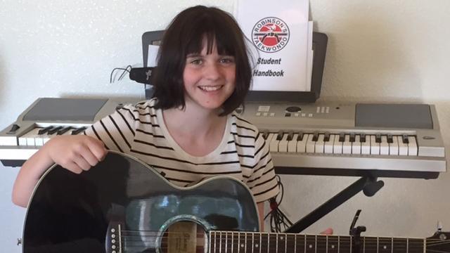 NKOTB: New freshman polymath excels at guitar, piano, video games, art and taekwondo