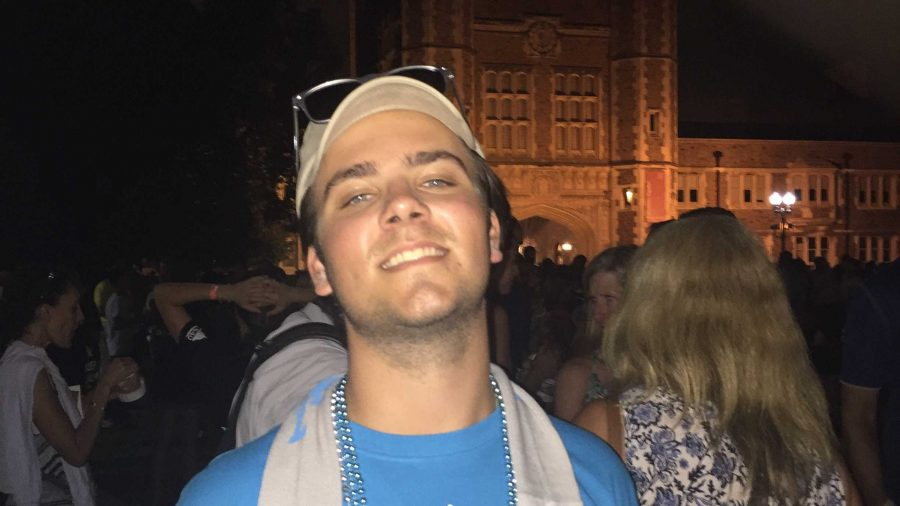 FRESHMAN FOCUS: Max Schmitz finds WashU's friendly students, less-structured majors and dorm Olympics exhilarating