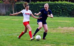 Girls' soccer takes first win against Cornerstone using strong defense