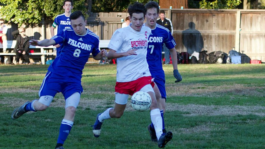 Boys' soccer takes victory by denying Forest Lake any chances to score