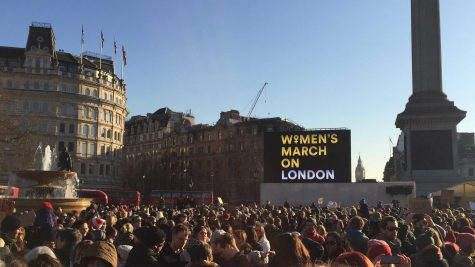 Becoming part of history, alumni participate in Women's Marches around the world