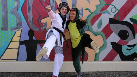 Students, faculty get wacky, weird for winter Homecoming spirit week (slideshow included)