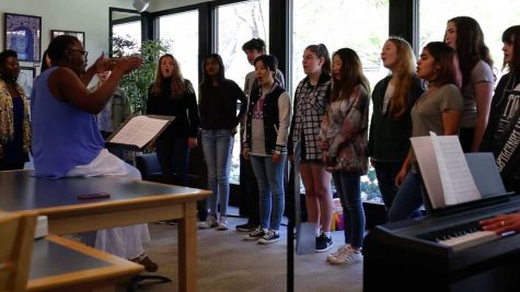 Middle- and high-school choir performs 'A Change is Gonna Come' at lunchtime concert (video included)