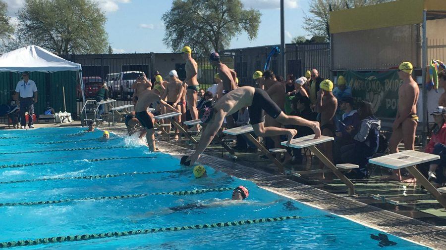 Scramble for relay swimmers earns members spots in Section Championships