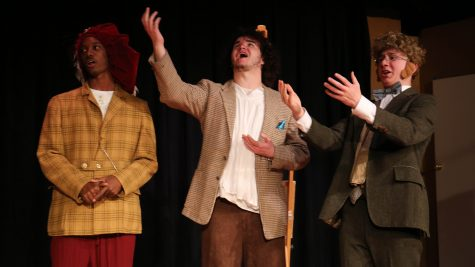 Painter's friends fake his death in high-school drama written by Mark Twain (slideshow included)