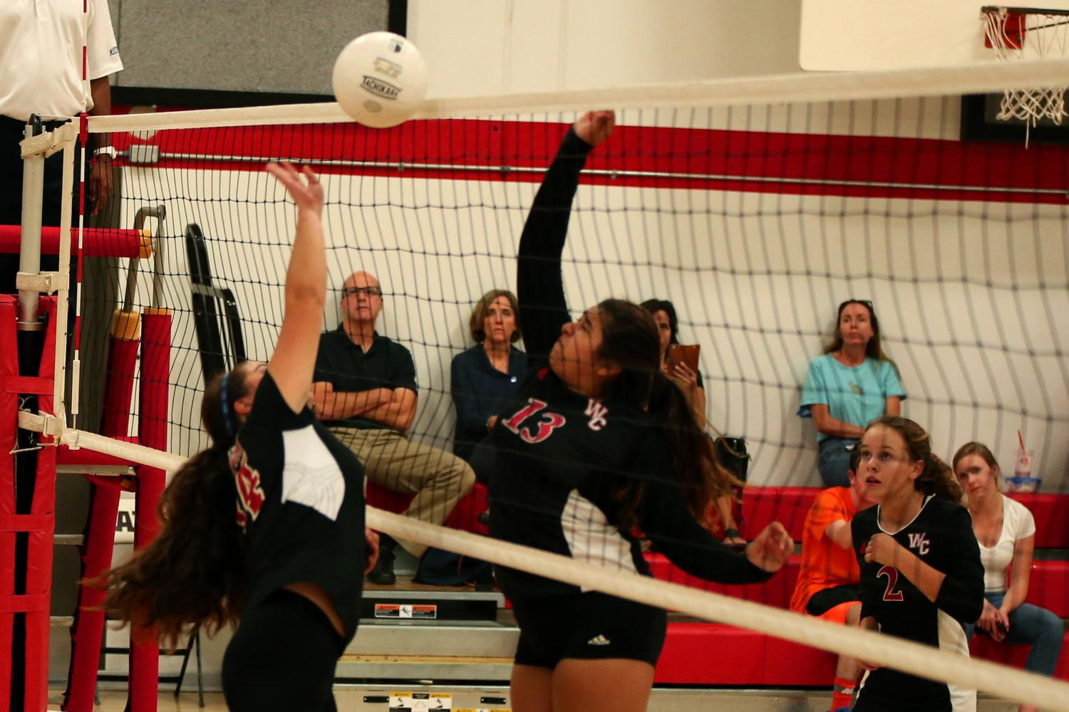 Expectations meet reality as JV volleyball loses to Woodland Christian