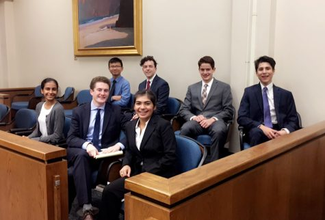 Mock Trial competes in Beach Ball Classic