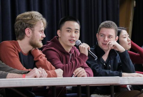 Alumni discuss roommates, school politics, and more on annual college freshman panel (videos included)