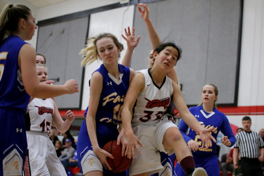 Girls overwhelm Faith Christian at homecoming
