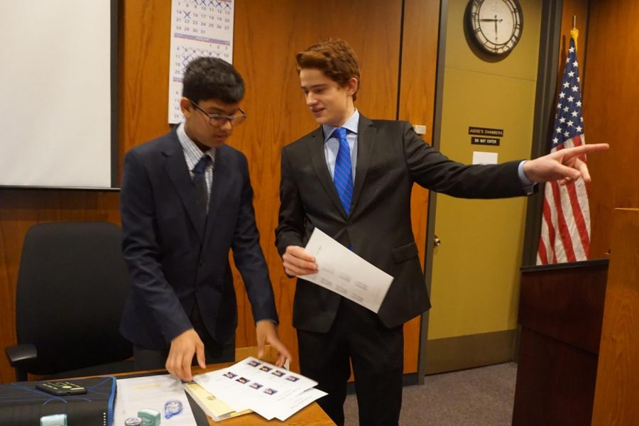 Mock Trial team wins round two in county tournament