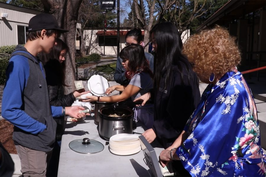 Chinese Club celebrates Lunar New Year by doling out dumplings for charity (video included)