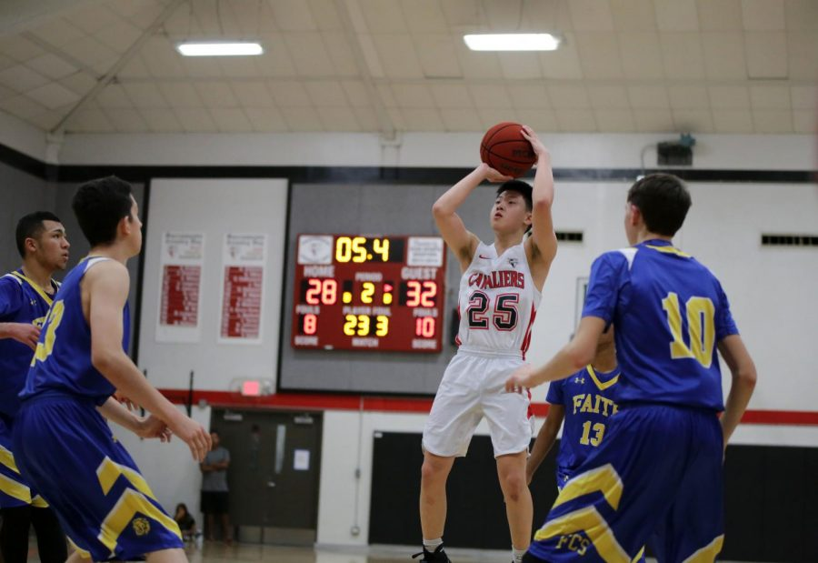 Senior's shoulder dislocation, failed 'forced' shots spell doom for boys' basketball team in last playoff game