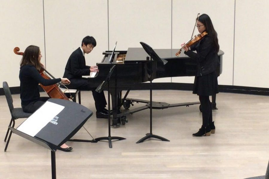 Piano trio tangos its way to state competition at Golden Empire Festival
