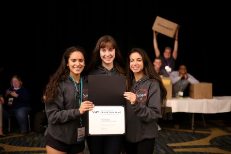 Octagon earns perfect score in yearly National Scholastic Press Association critique