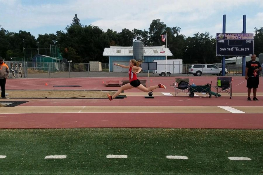 One-woman track team wants to make history by qualifying for state championships