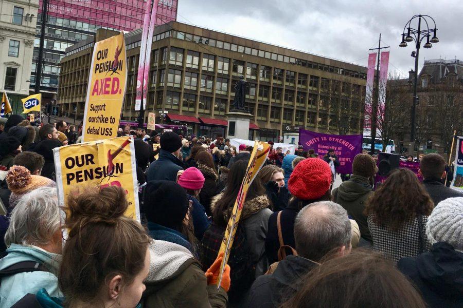 POLITICAL ANIMALS: Expat alum attends British university during peak of teacher's pension strikes