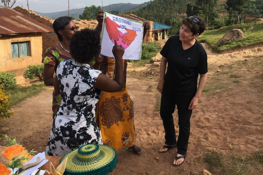 Music teacher brings 300 pounds of gifts to Rulindo, watches students sing, dance (videos included)